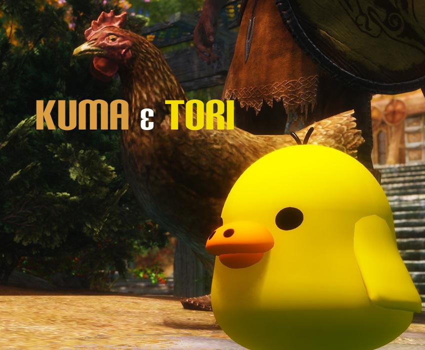 Kuma & Tori