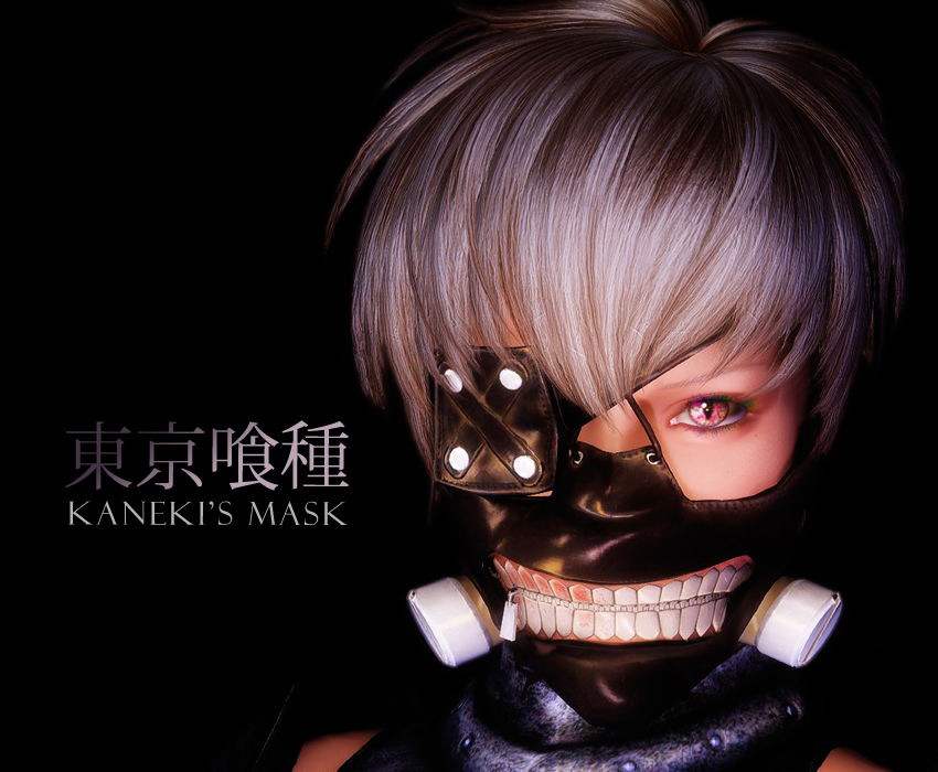 Kaneki's Mask from Tokyo Ghoul