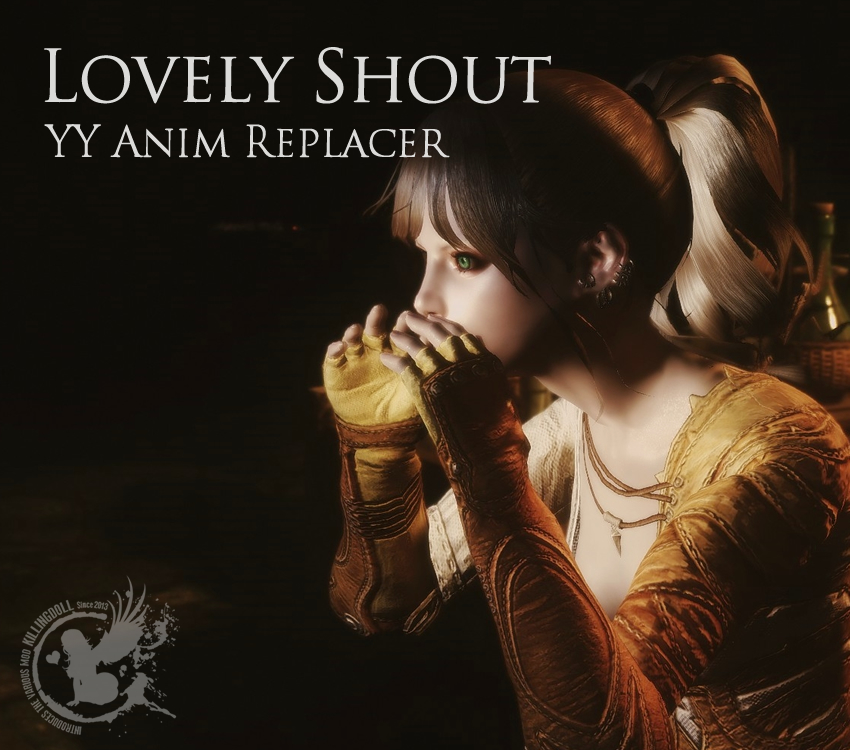YY Anim Replacer – Lovely Shout