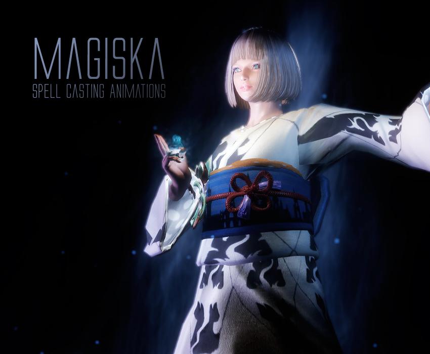 Magiska – Spell Casting Animations