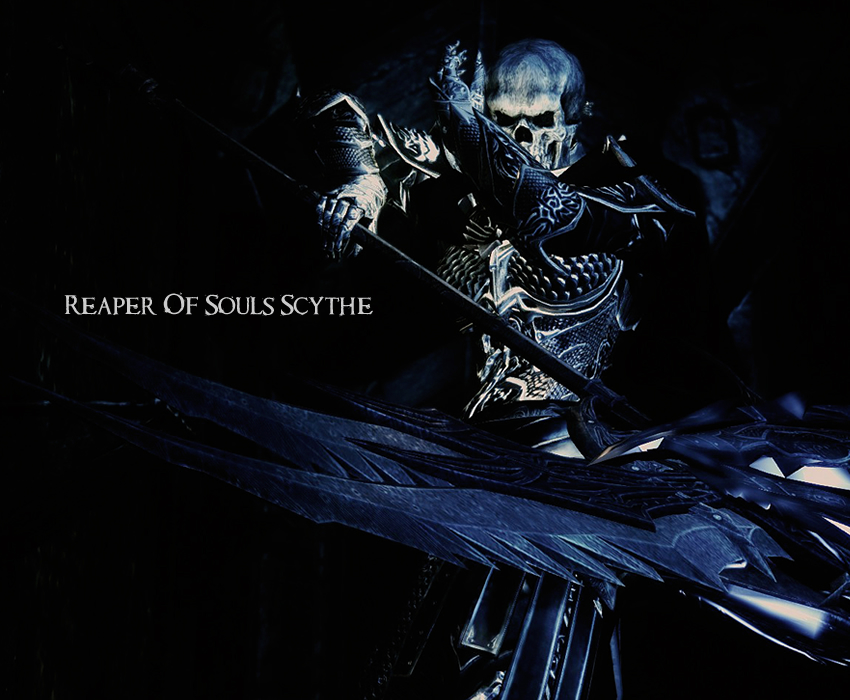 Reaper Of Souls Scythe