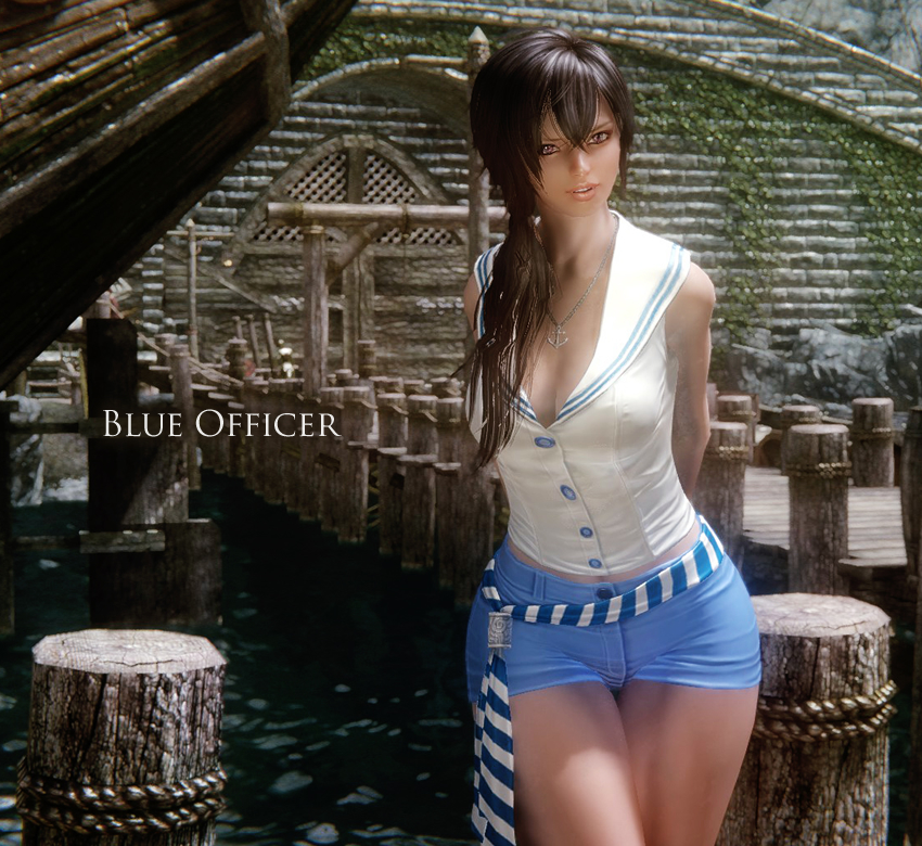 Blue Officer