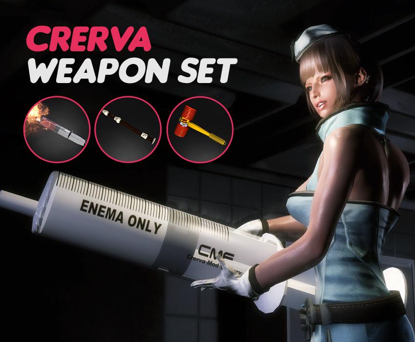 Crerva Weapon Set