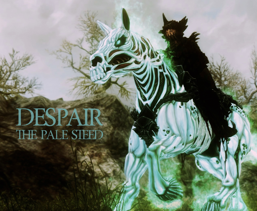 Despair the pale steed