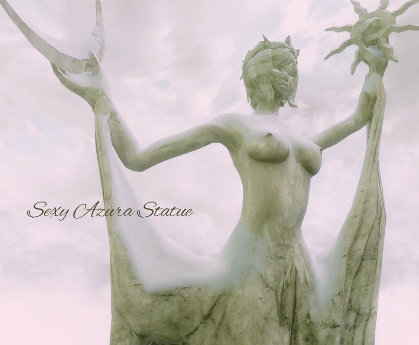 Sexy Azura Statue