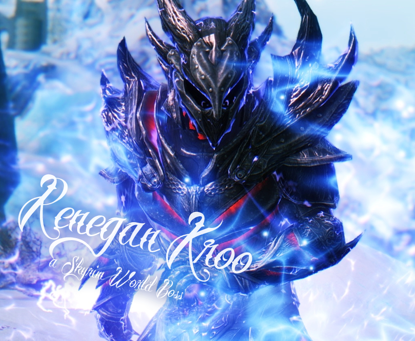 Renegan Kroo – a Skyrim World Boss