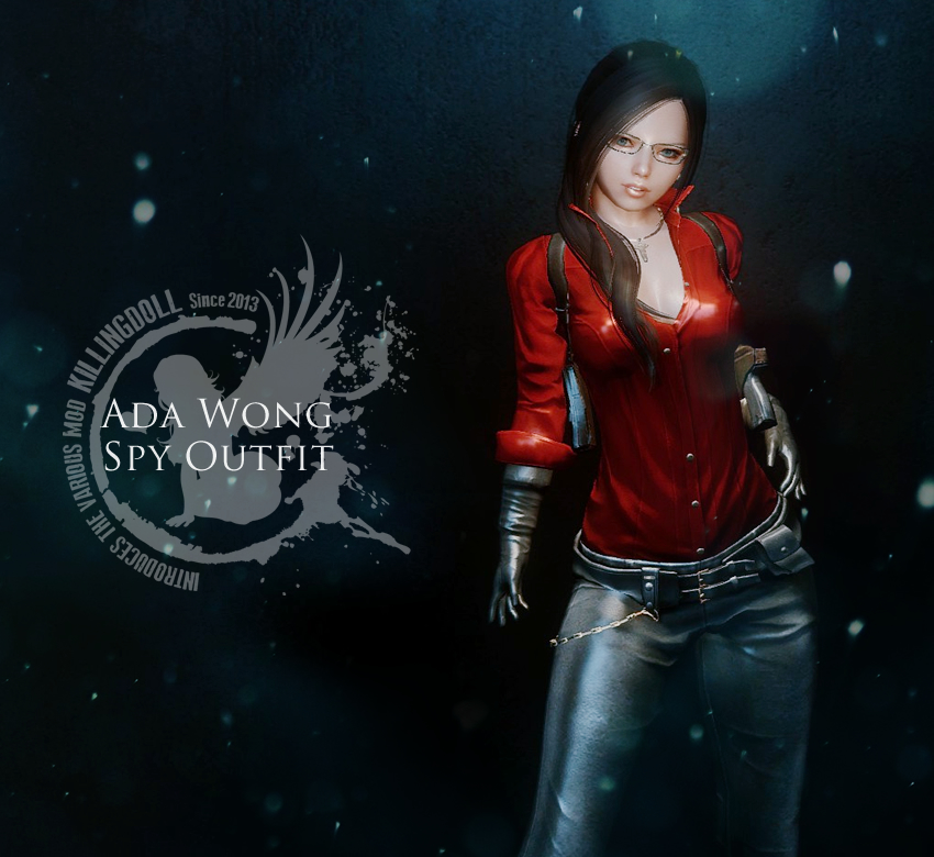 Ada Wong Spy Outfit