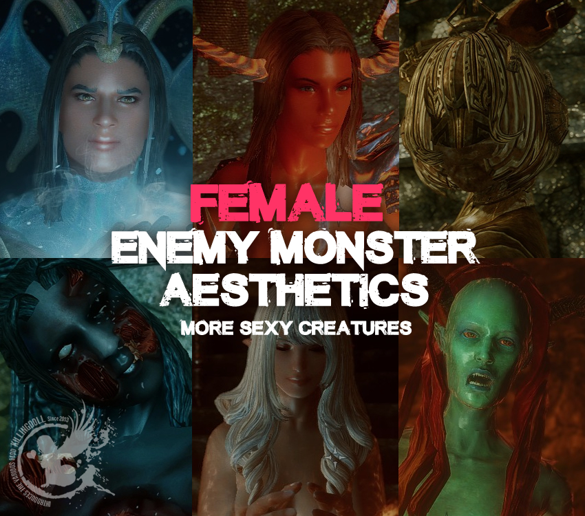 Female Enemy Monster Aesthetics Leveled Encounters