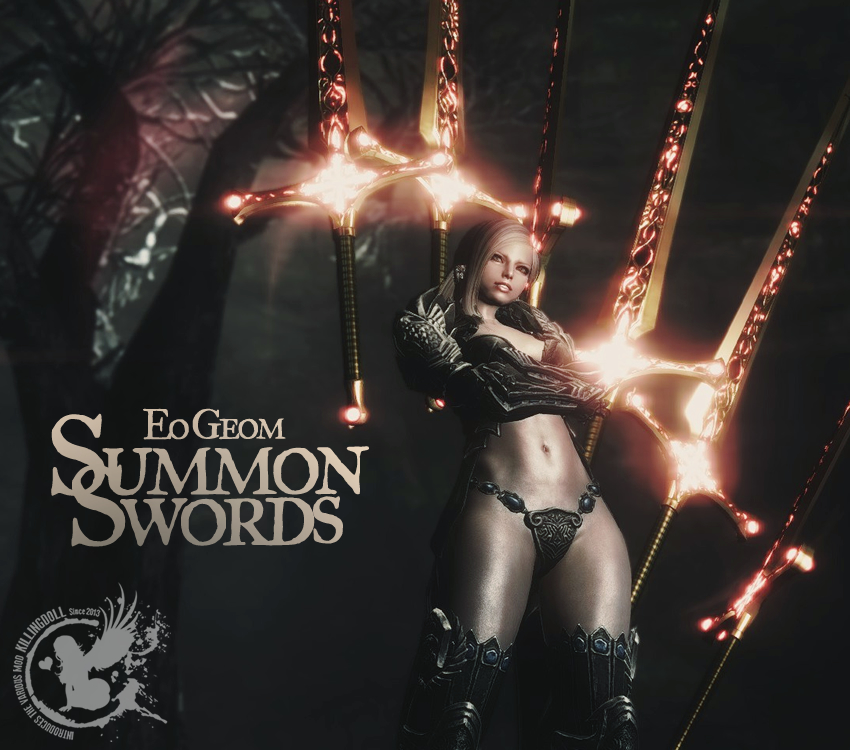 Eo Geom Summon Swords