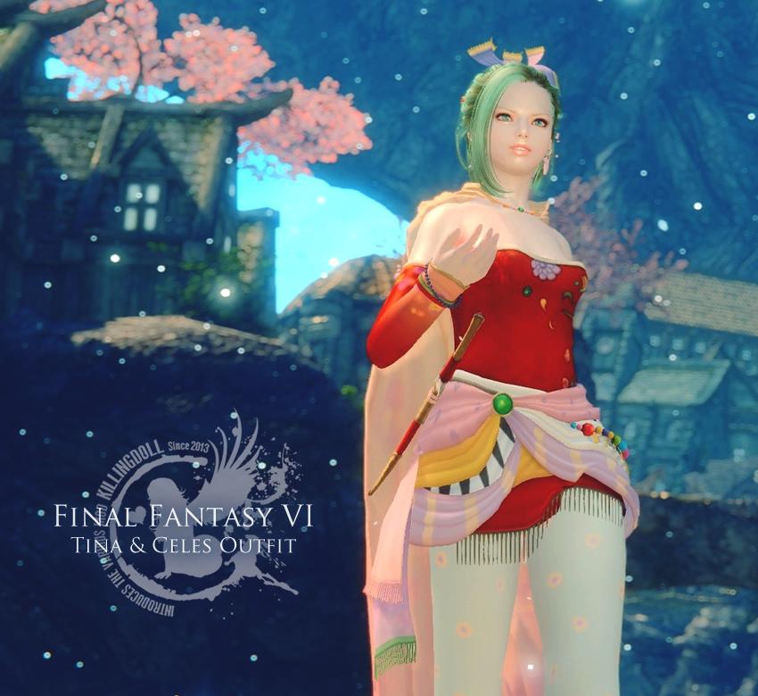 FF6 Tina & Celes Outfit