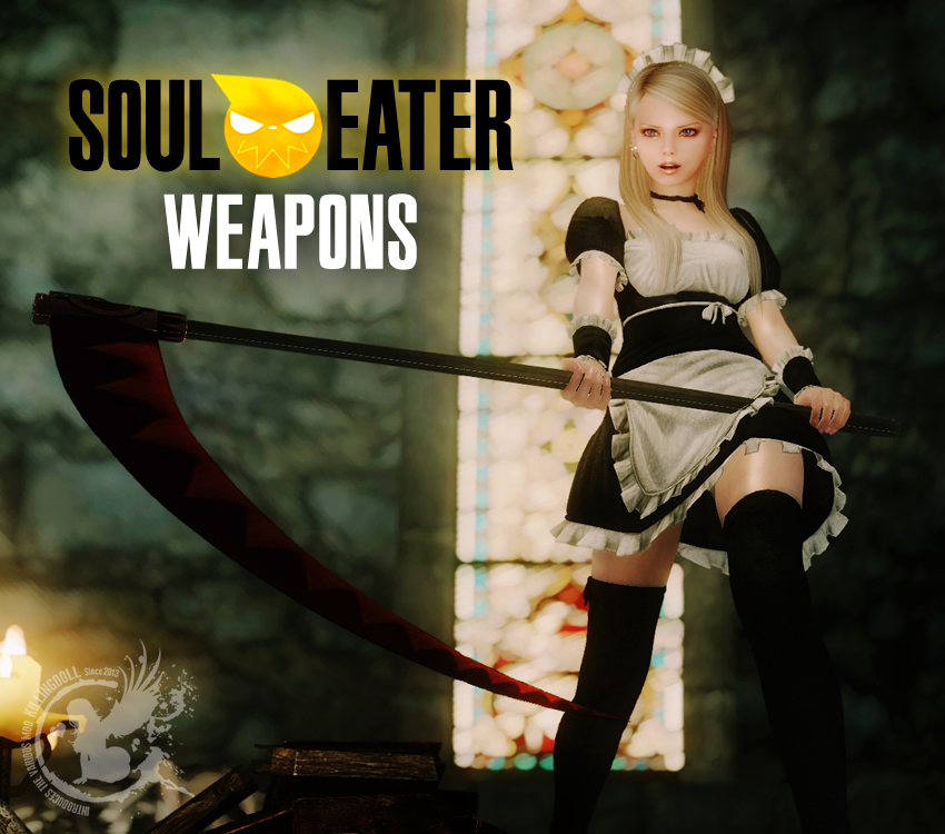 Soul Eater Weapons Anime Manga