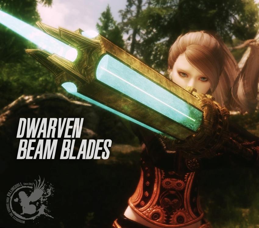 Dwarven Beam Blades