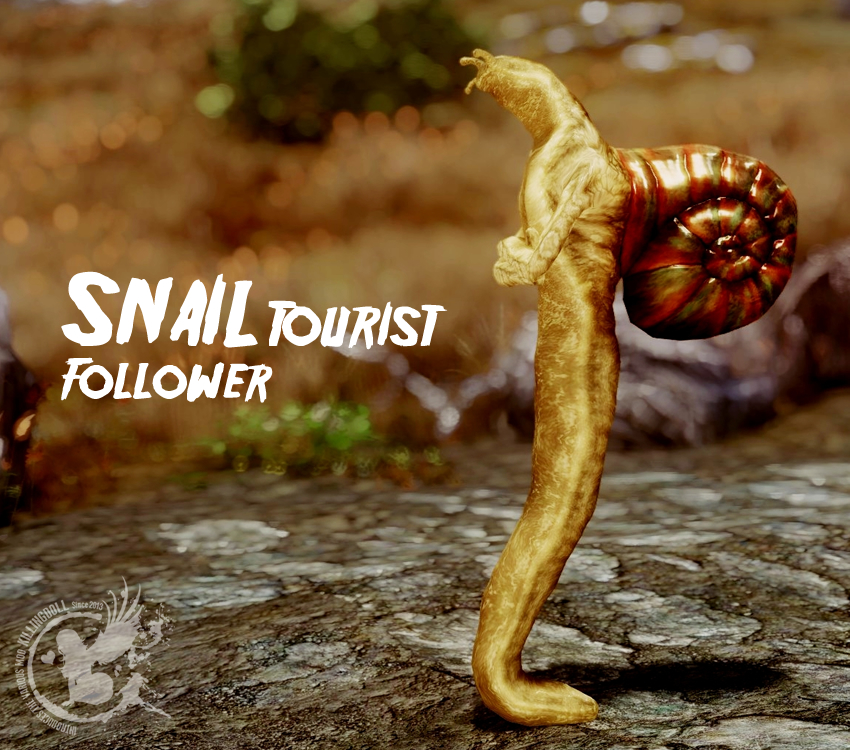 snail-tourist-follower