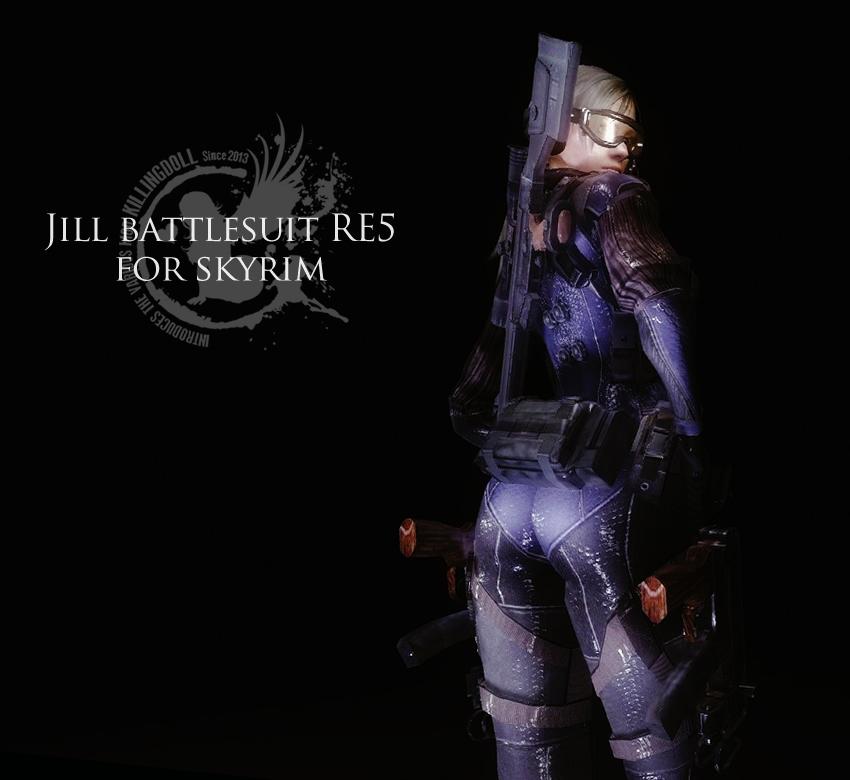 Jill battlesuit RE5 for skyrim