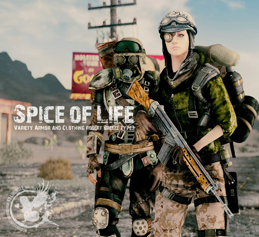 Spice of Life – Variety Armor and Clothing