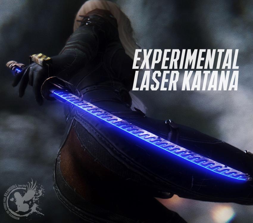 Experimental Laser Katana
