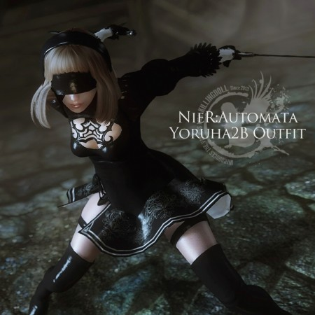 NieR:Automata Yoruha2B Outfit