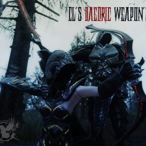 CL's Daedric Weapon's
