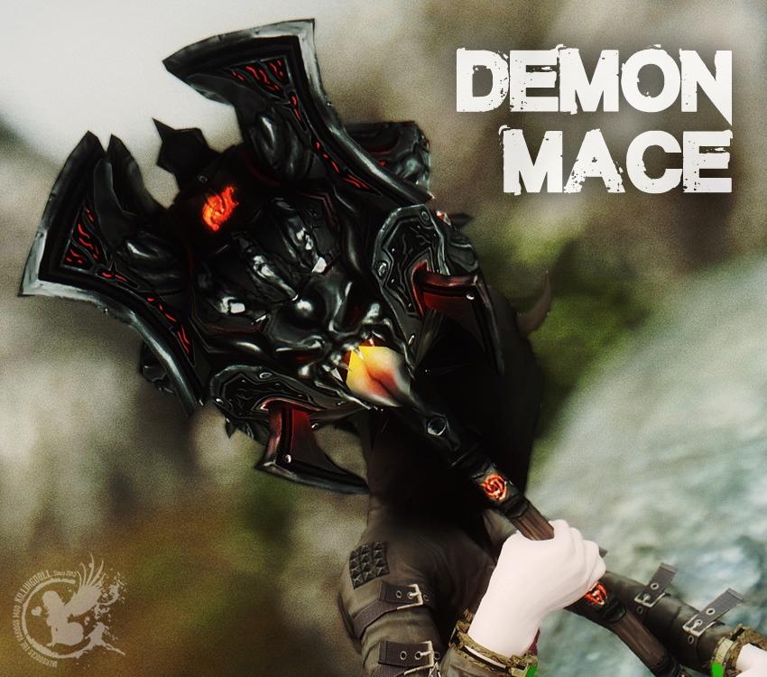 Demon Mace