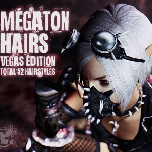 Megaton Hairs – Vegas Edition by zzjay
