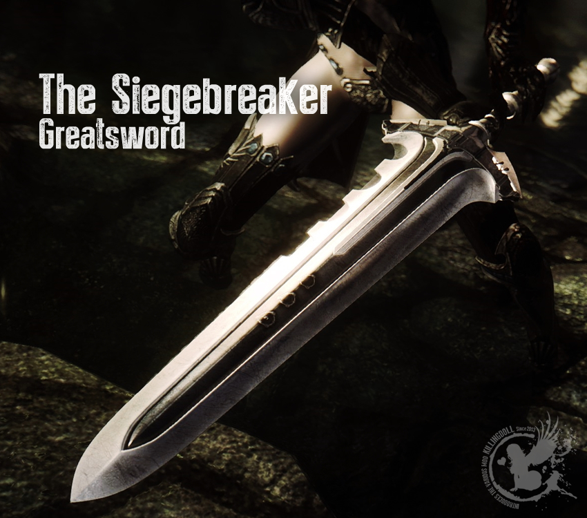 The Siegebreaker Greatsword
