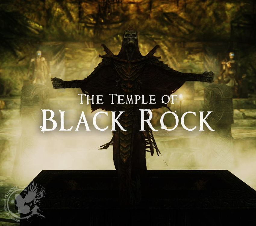 The Temple of Black Rock