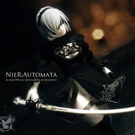 NieR:Automata by Dint999