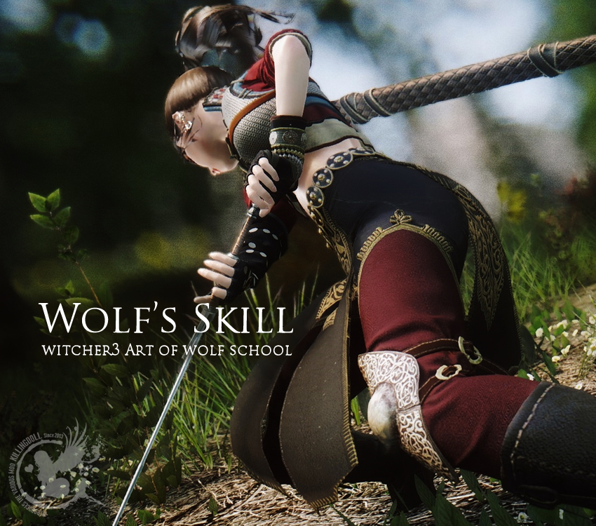 Wolf's Skill – witcher3 Art of wolf school