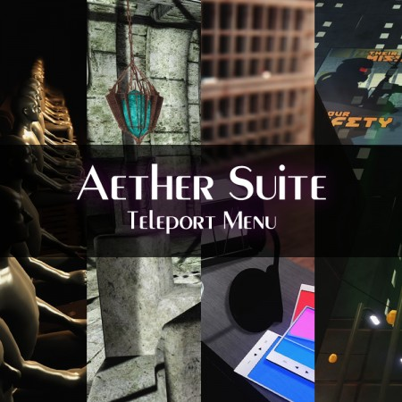 Aether Suite Teleport Menu