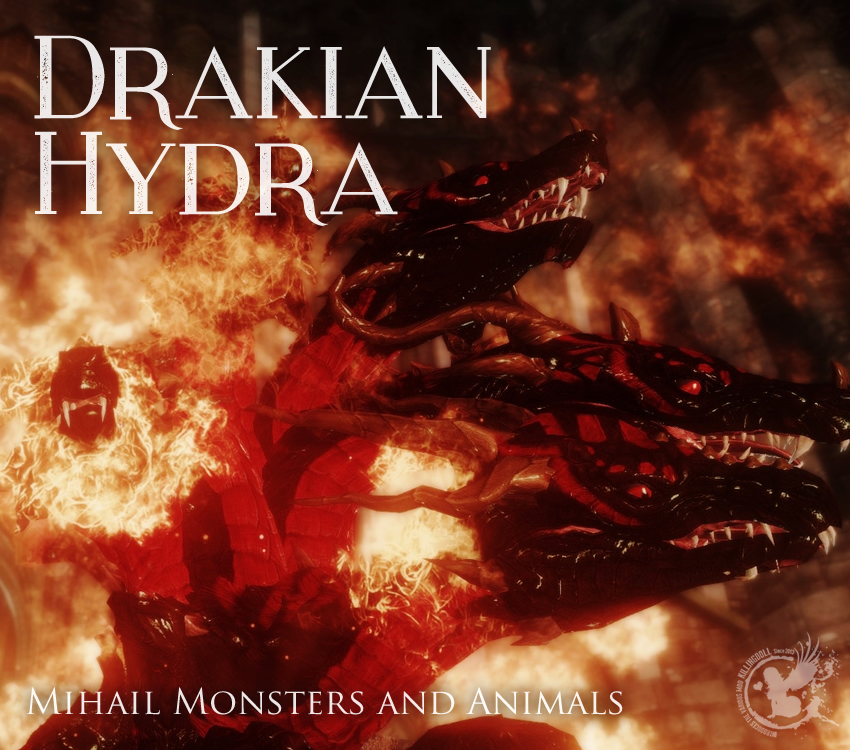 Drakian Hydra – Mihail Monsters and Animals