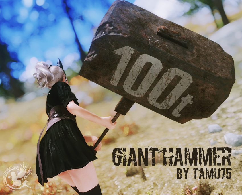 Giant Hammer by tamu75