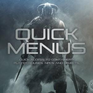 Quick Menus