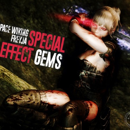 Space Wiking Freyja Special Effect Gems