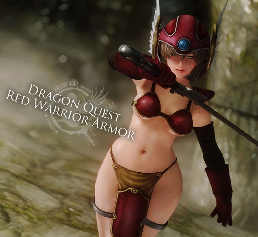 Dragon Quest Red Warrior Armor