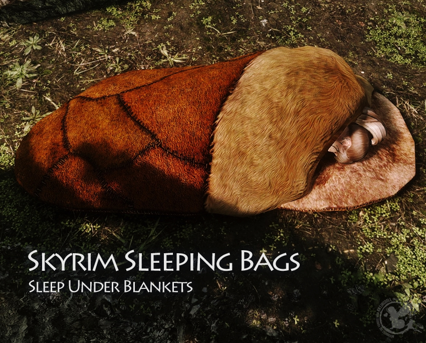 Skyrim Sleeping Bags – Sleep Under Blankets