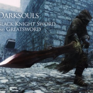 Dark Souls – Black Knight Sword and Greatsword