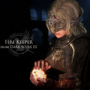 Fire Keeper from Dark Souls III