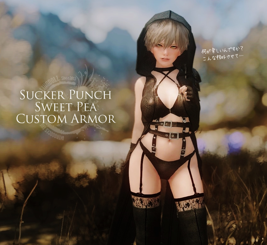 Sucker Punch Sweet Pea Custom Armor -CBBE