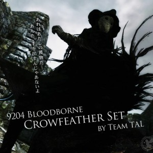 9204 Bloodborne Crowfeather Set by Team TAL
