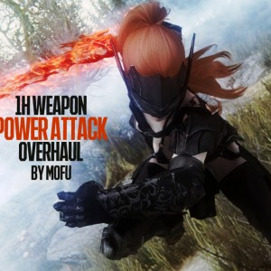 1H Weapon Power Attack Overhaul by Mofu