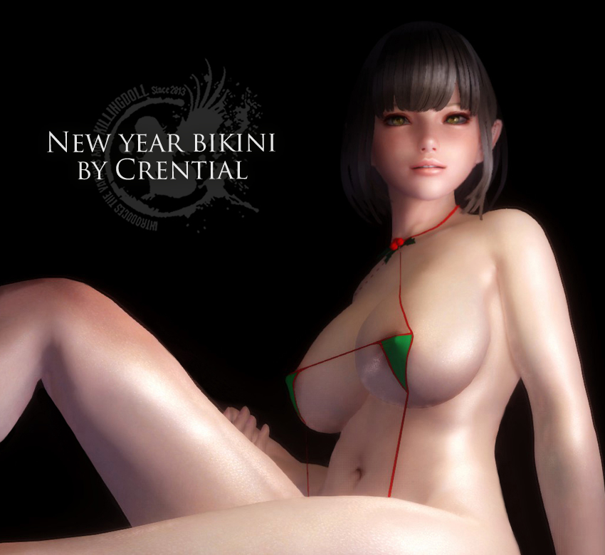New year bikini by Crential