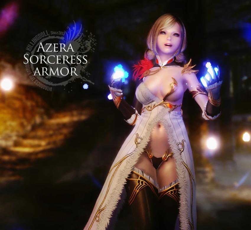 Azera Sorceress armor