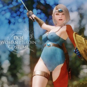 DQ4 Woman Heroin Costume
