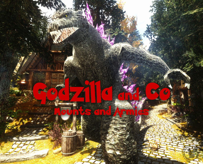 Godzilla and Co – Mounts and Armies