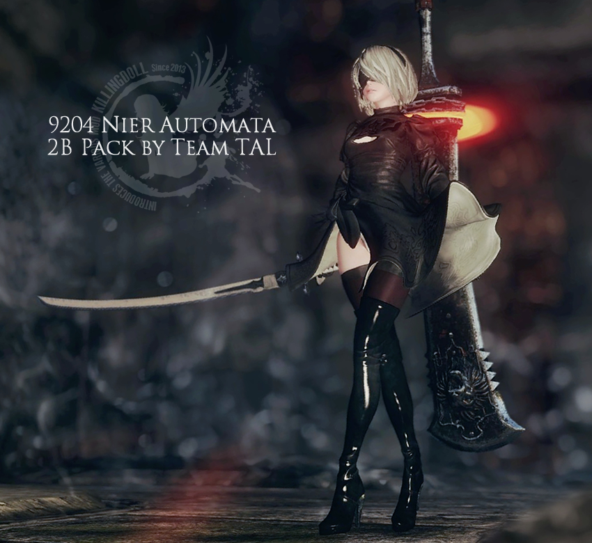 9204 Nier Automata 2B Pack by Team TAL