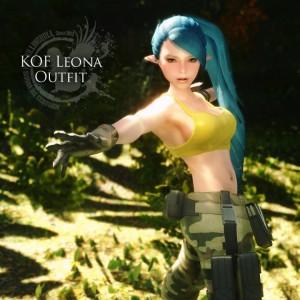 KOF Leona Outfit