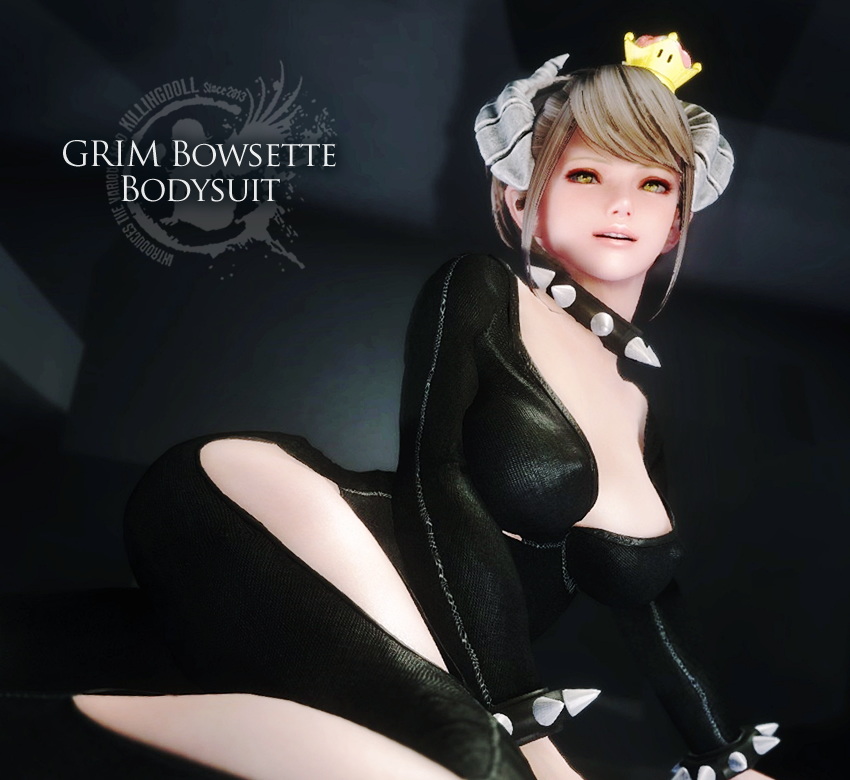 GRIM Bowsette Bodysuit