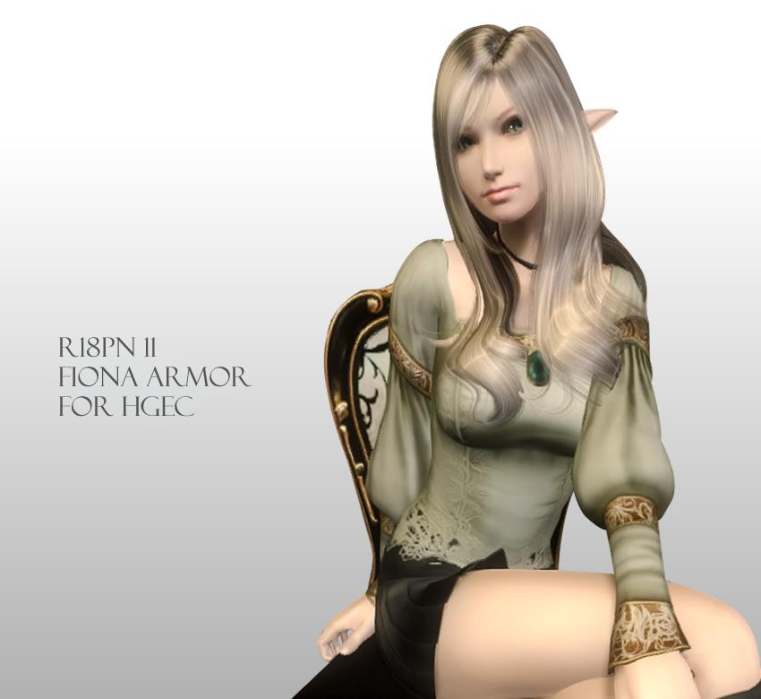 R18PN 11 – Fiona Armor for HGEC