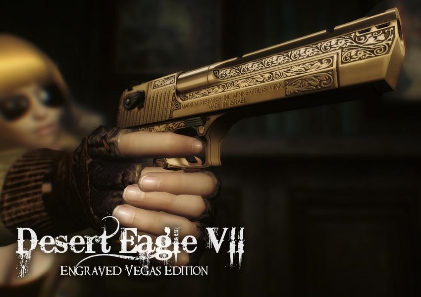 Desert Eagle VII Engraved Vegas Edition