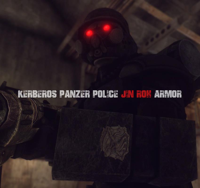 Kerberos Panzer Police Jin Roh armor